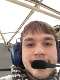 Während der Kommunikation mit dem Piloten